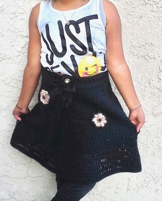Just Be You in hand-crocheted skirts by Niema